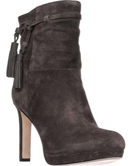 Bristol Pull On Tassel Ankle Boots