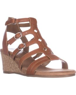 Sparkle Comfrot Wedge Sandals
