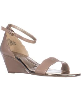 Opali Ankle Strap Wedge Sandals