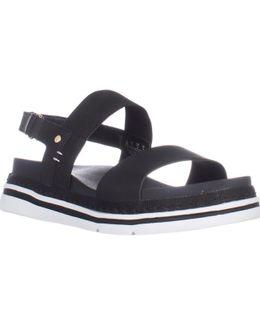 Dr. Scholls Beam Flat Platform Sandals