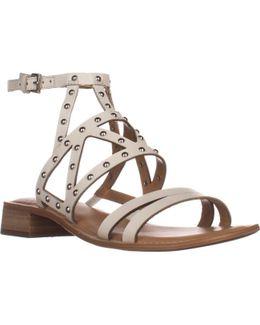 Alyssa Flat Ankle Strap Sandals