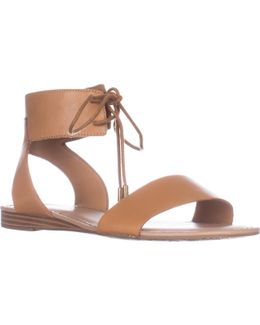 Glenys Flat Lace-up Sandals