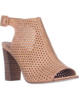 Beckie Open Toe Mule Slingback Heels