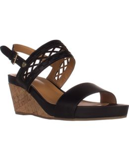 Jenesis Platform Wedge Sandals