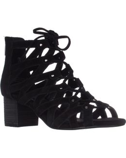 Middle Ground Lace-up Sandals