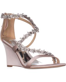 Bennet Strappy Wedge Evening Sandals