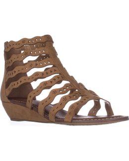 Carlos Carlos Santana Kitt Low Heel Wedge Sandals