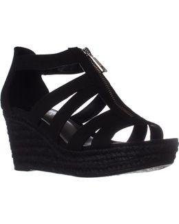 Lauren Ralph Lauren Kelcie Platform Wedge Sandals