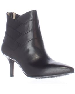 Footwear Sande Cross Straps Dress Ankle Booties
