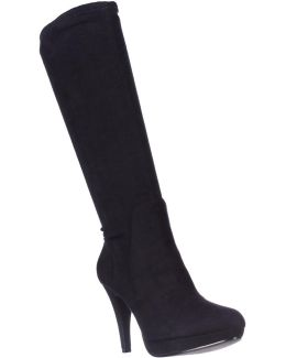 Premiere Stretch Knee-high Boots
