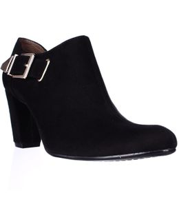 Effortless Buckle Ankle Booties