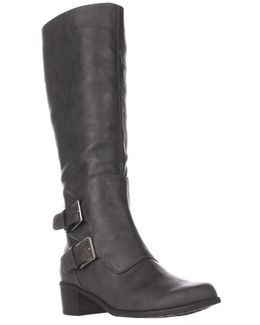 Ever After Double Zipper Riding Boots