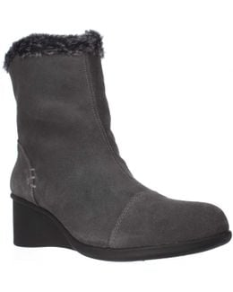 Bravery Wedge Fleece Lined Winter Boots