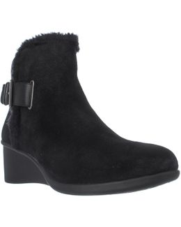 Gravel Wedge Winter Boots