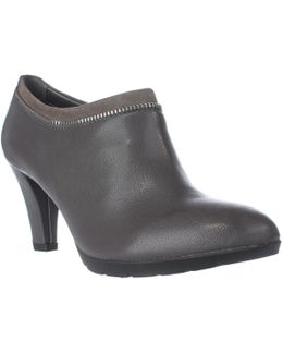 Dalayne Zipper Lined Ankle Booties