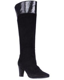 Viet Knee High Dress Boots