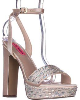Alliie Ankle Strap Platform Dress Sandals