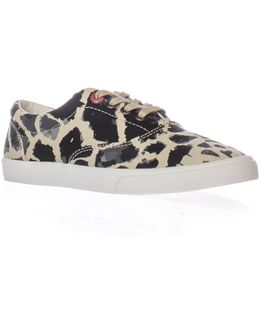 Michael Saint Aubin Giraffe Lace-up Sneakers