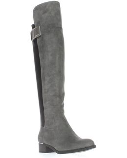 Womens Cyra Closed Toe Knee High Fashion Boots