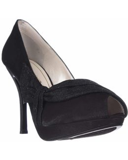 Odessa Peep Toe Platform Dress Pumps