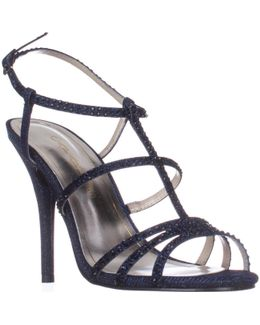 Groovy Strappy Evening Sandals