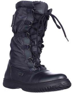 Sage Winter Boots - Midnight Navy