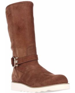 Virtue Flat Winter Boots - Saddle