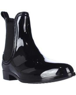 Chariot Chelsea Rain Booties - Black