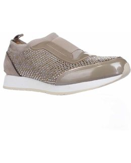 Ryley Rhinestone Pull On Fashion Sneakers