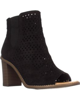 Dr. Scholls Peyton Open-toe Ankle Booties