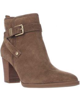 Delancy Wrap Strap Ankle Boots