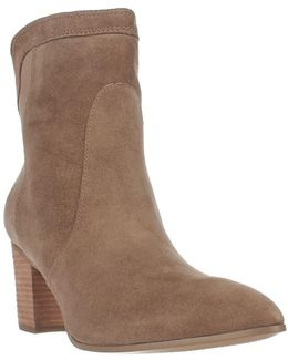 Lory3 Pull On Ankle Boots - Ivory