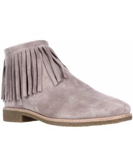 Kate Spade Betsie Fringe Ankle Boots