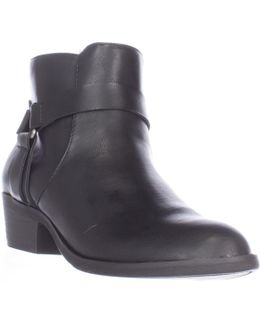 Dolla Bill Ankle Boots - Black