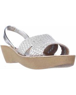 Fine Time Comfort Platform Wedge Sandals