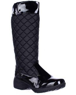 Merritt Quilted Soft Lined Winter Rain Boots