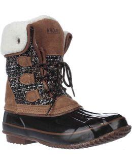 Julliard Fleece-lined Snow Boots