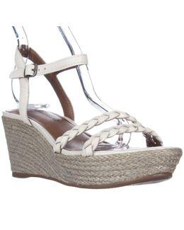 Lyall Espadrille Wedge Braided Strap Sandals