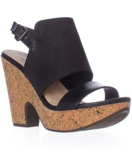 Misty Slingback Wedge Sandals