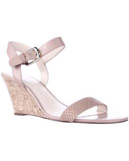 Kiani Cork Wedge Sandals