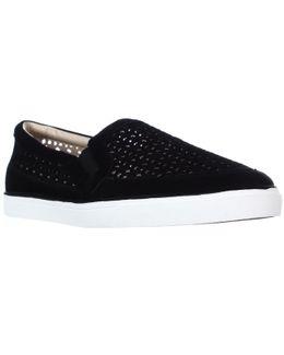 Banter Slip-on Sneakers - Black Suede