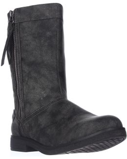 Tipton Quilted Mid-calf Boots