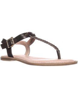 Virginia T-strap Ankle Strap Sandals