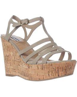 Nalla Wedge Strappy Sandals