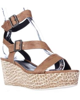 Elie Mustique Strappy Platform Sandals