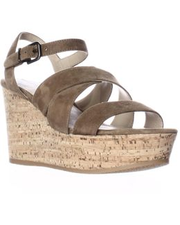 Kendall Platform Wedge Strappy Sandals
