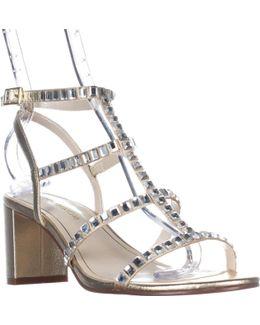 Insync Studded Gladiator Dress Sandals