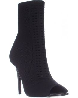 Rebellious Stretch Pull On Ankle Boots