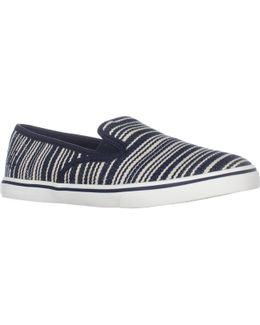 Lauren Ralph Lauren Janis Slip On Fashion Sneakers