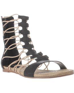 Dominica Mid-calf Gladiator Sandals